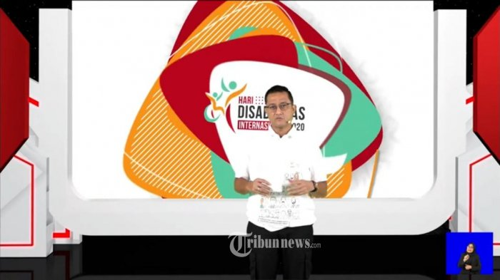 Mensos Juliari P Batubara Luncurkan Website 'Creative Disability Galery""